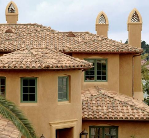 boral mission red tile home az